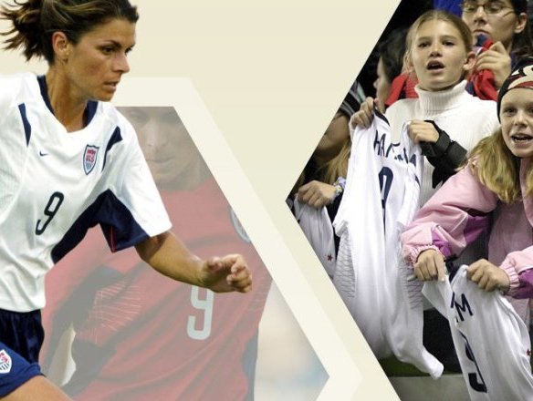 American Athlete: The Mia Hamm Effect