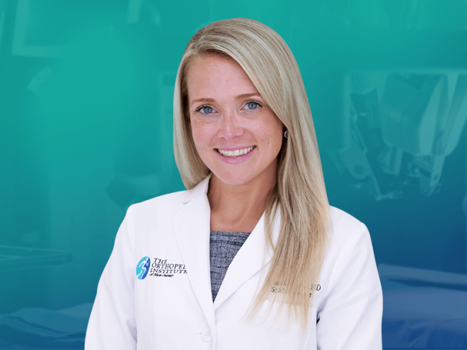 Ashley Bassett, MD, Director of the New Women's Sports Medicine Center